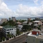Hotel view, Suva